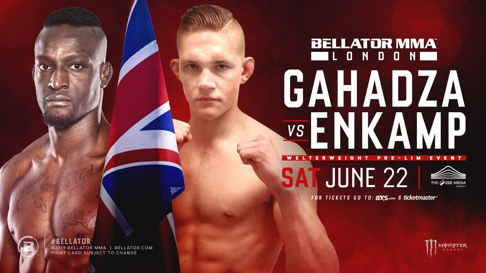 Enkamp at Bellator London