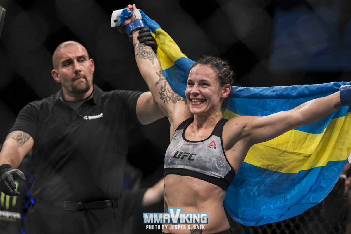 Lina Länsberg at UFC Raleigh