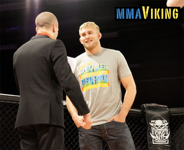 Gustafsson at The Zone FC