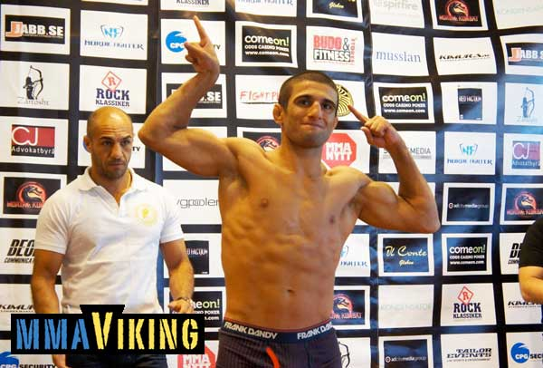 Sirwan Kakai Ready for Bellator Debut