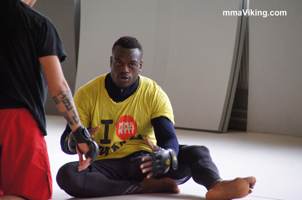Papy Makambo Abedi UFC Fight Prep
