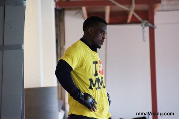 Papy Makambo Abedi UFC Fighter