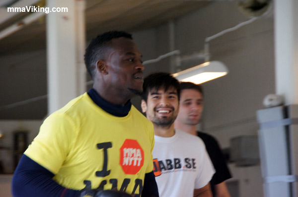 Papy Makambo Abedi AND Diego Gonzalez UFC Fighter