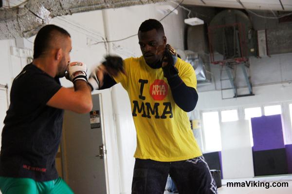 Abedi Training with Reza Mad Dog Madadi
