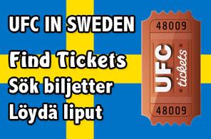 UFC in Sweden Tickets