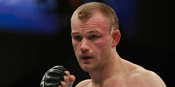 Martin Kampmann's Fight Look (without Mustache)