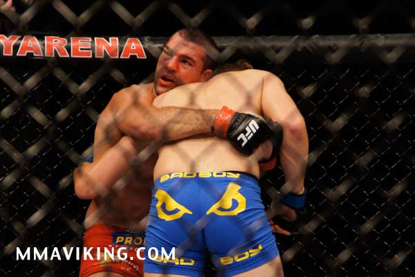 Rua Showing the Damage from the Mauler