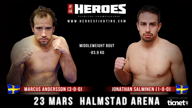 The latest fight announced by Heroes Fighting Championship