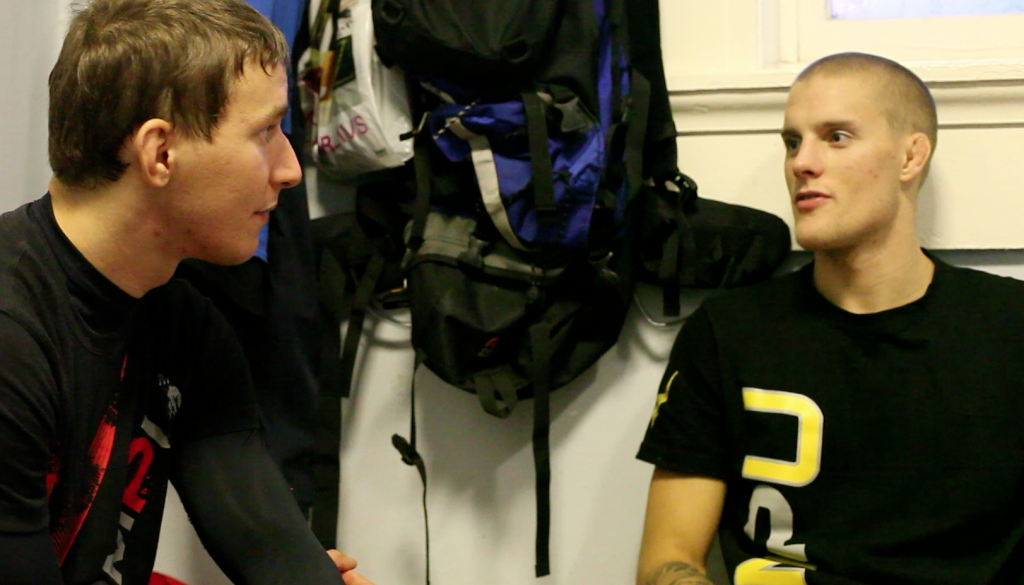 Hartsner has been soaking up experience by being the corner man for Martin Svensson in many of his bouts.