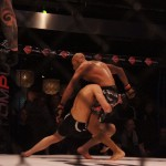 Andersson executing explosive takedowns at Vision Fight Night