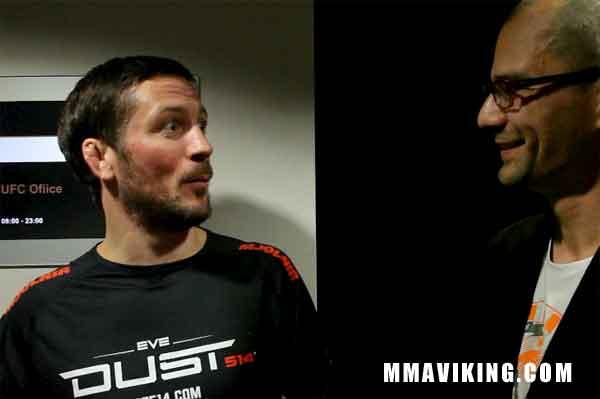 John Kavanagh Talks to MMA Viking