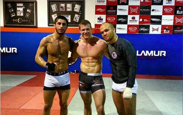 Sabah Homasi, Emil, and Robby Lawler at ATT