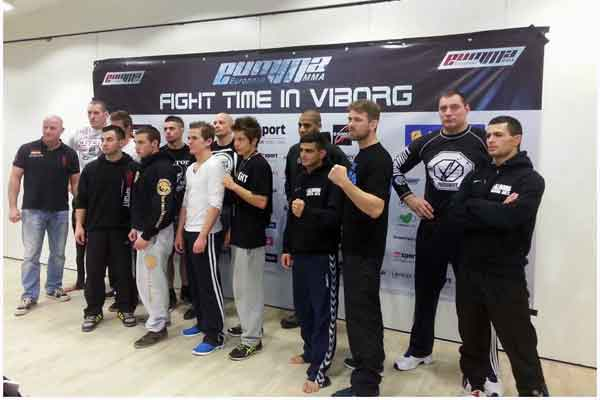 All Fighters Ready to Go for Tonight's Bout