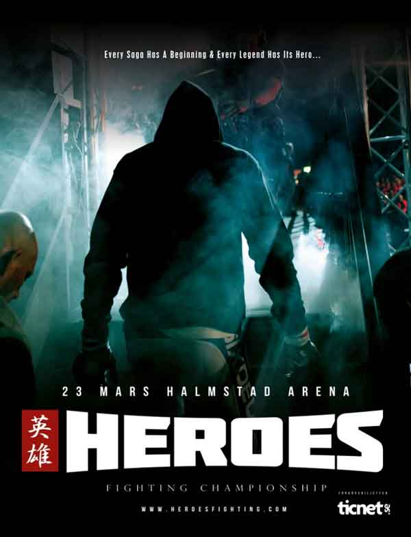 Heroes Coming to Halmstad Arena March 23