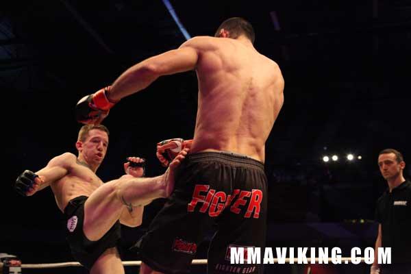 Svensson Battles, But Suffers First Loss