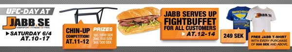 Jabb Hosts Awesome Pre-Fight Events