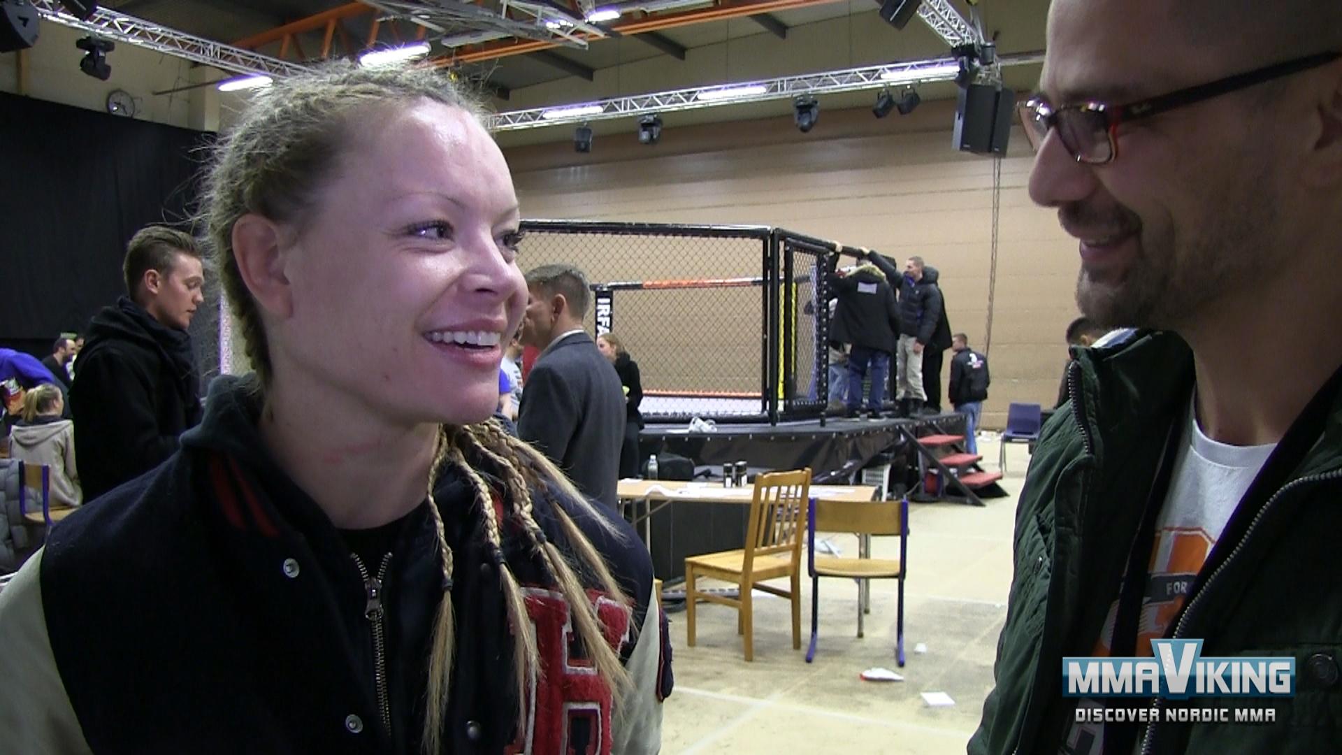 Amir Albazi at UFC 257