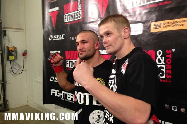 The Two Fighters Acknowledging a Close Bout