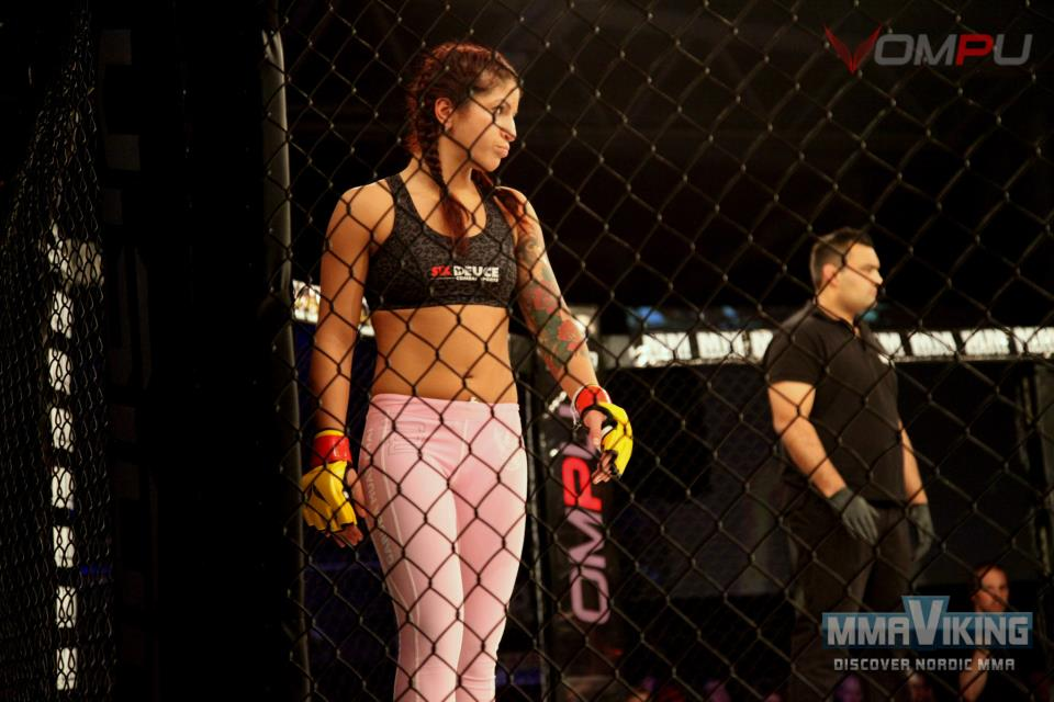 Pannie is one of the two Swedes so far to have their sights set for the next  season of The Ultimate Fighter