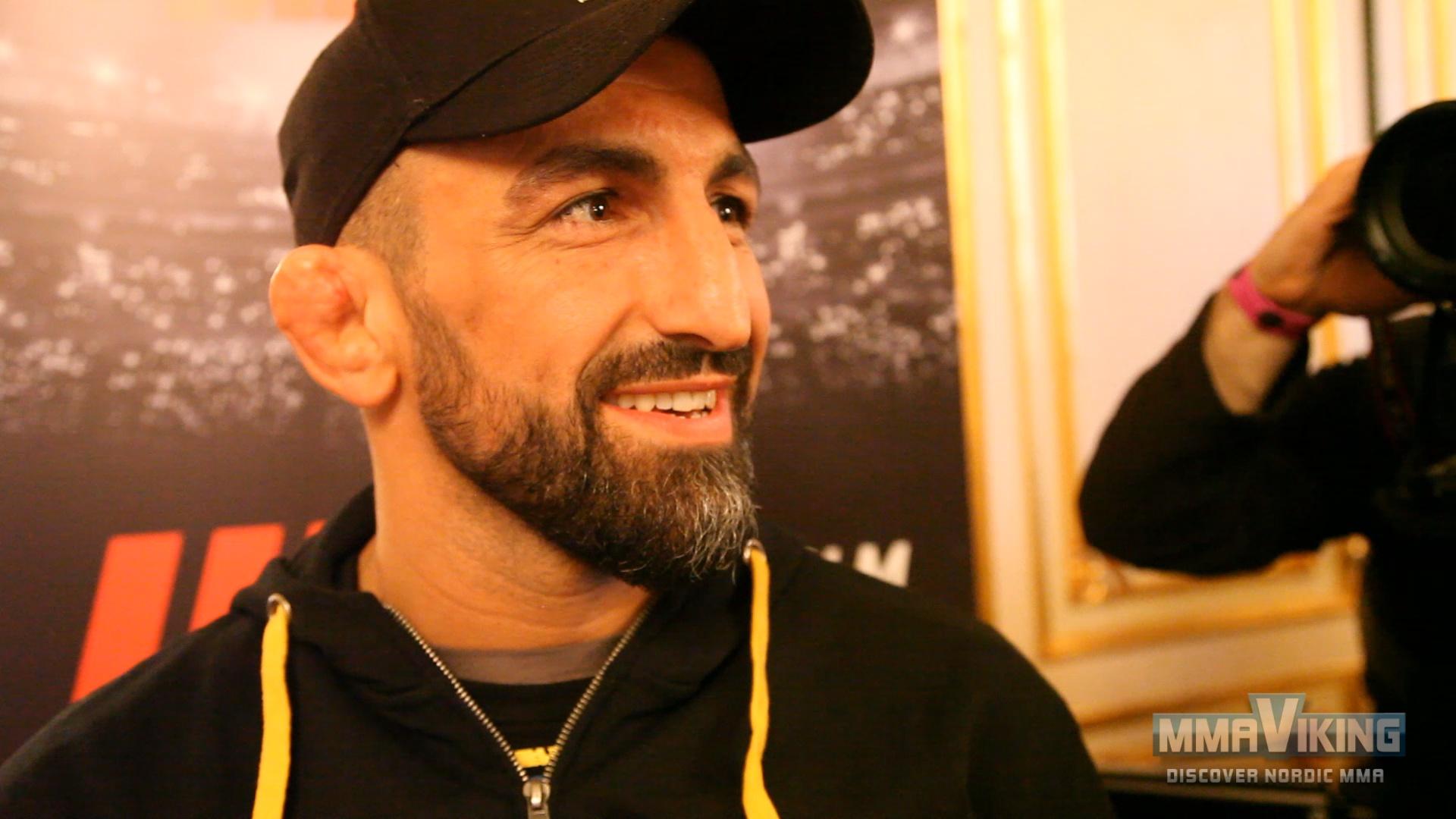 Reza Madadi UFC Pre Fight Interview
