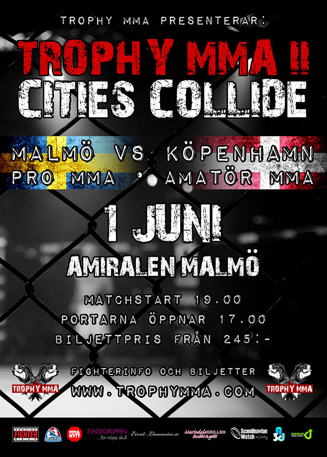 Fight Poster for Cities Collide