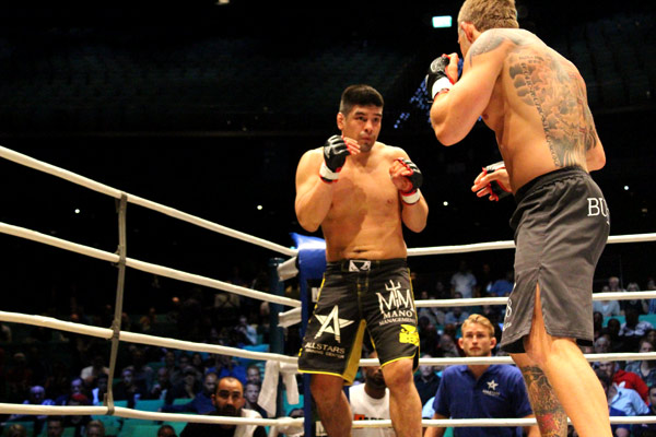 The main event of the evening was Diego Gonzalez vs. David Bielkheden.