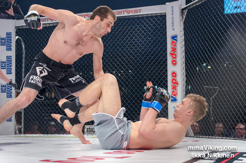 Rasul Khataev vs. Mikael Nyyssönen