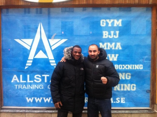 Coaches Nascimento and Michael at Gym Opening