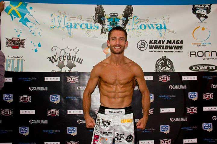Kowal Out of Bout Just Days Before Event | Photo from MarcusKowal.com