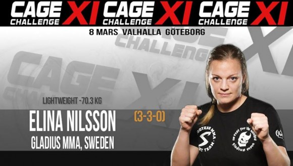 Elina Nilsson Cage Challenge XI