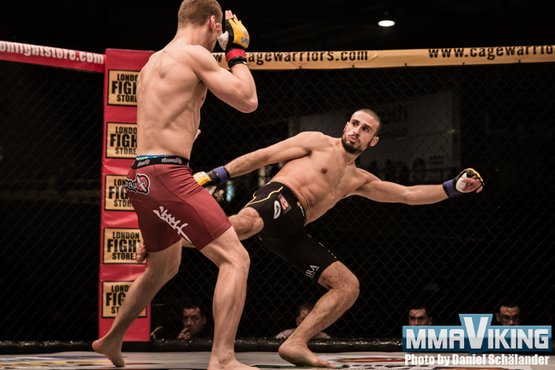 Rioo Ibrahim in Main Event of Trophy MMA 5