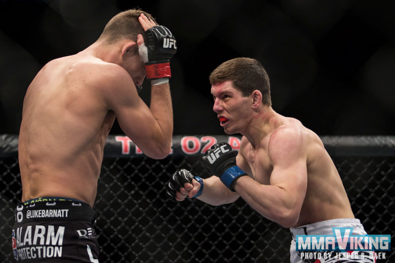 Nilsson Came Out Swinging, But Lost in UFC Debut