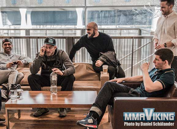 Gustafsson, Latifi, and Nilsson Relaxing Before UFC in London Bouts