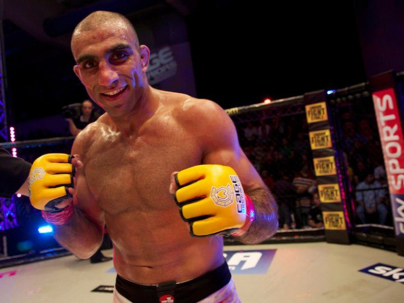 Bahari Returns to Cage Warriors (Photo by Dolly Clew / Cage Warriors)
