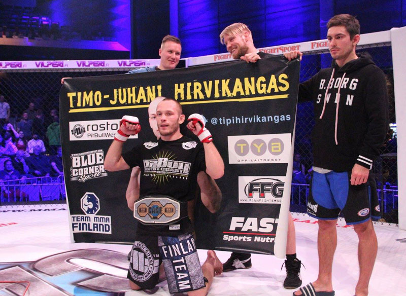 Hirvikangas Will Box at the Event