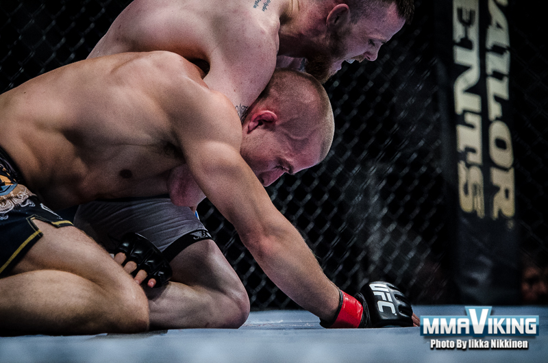 Bäckström climbs to the top of Nordic featherweight ranking with a submission win over previous top dog Niinimäki at UFC Berlin