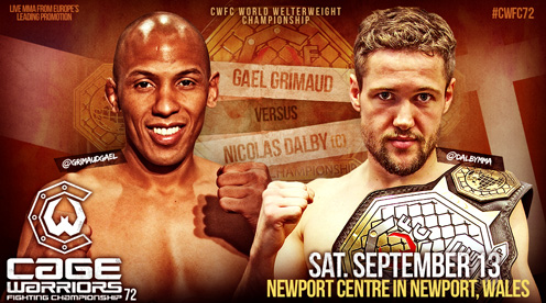Dalby Title Cage Warriors Wales