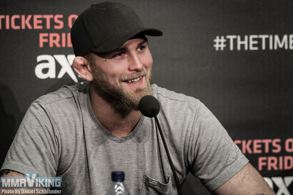 Gustafsson in Need of Opponent