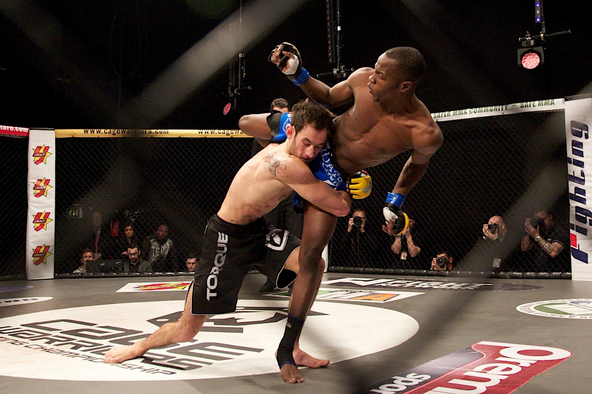 The Cage Warriors Vet is Ready to Fight in Finland (Photo by Dolly Clew / Cage Warriors)