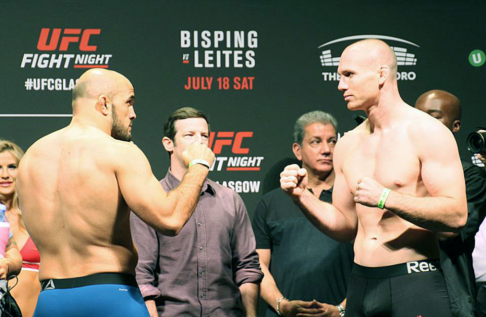 Latifi Steps Into Octagon
