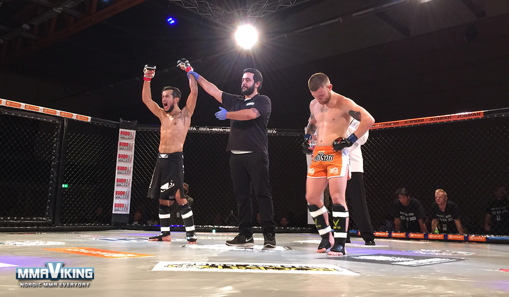 Temur Malick Wins First Fight of Night