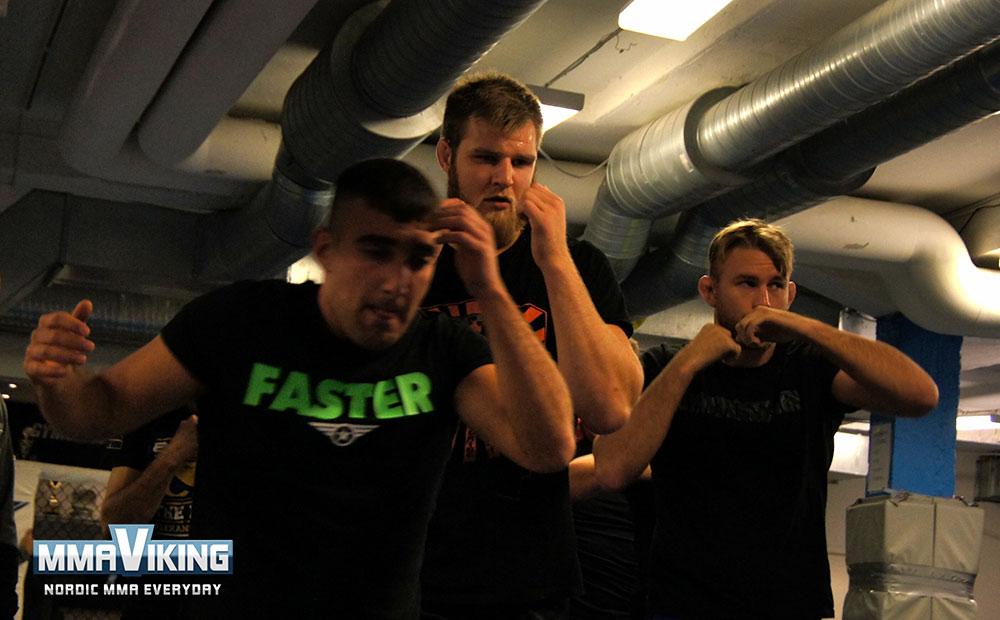 Vantinnen Training with Gustafsson