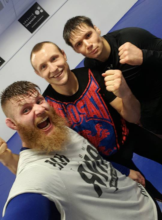 Meek at Frontline with Hermansson and Thoresen