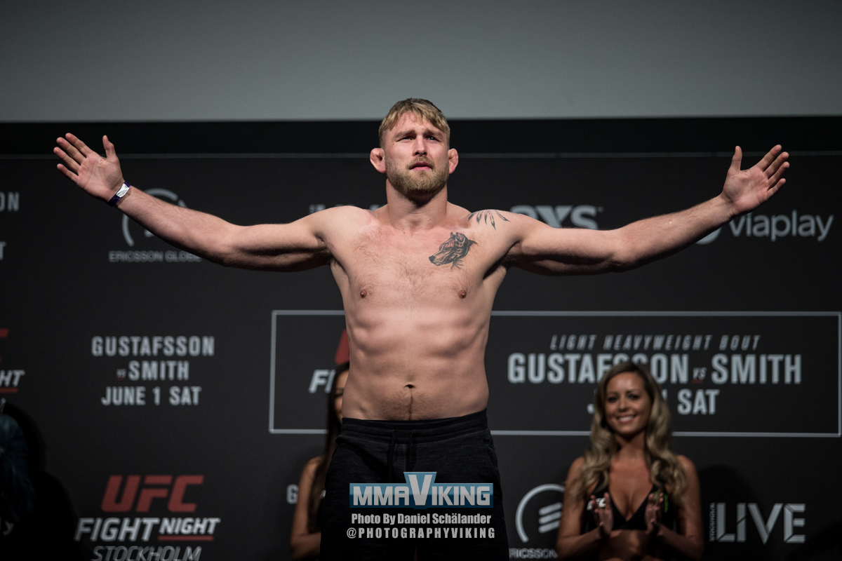 Alexander Gustafsson Returns for No-Gi Superfight at AK Fighting ...