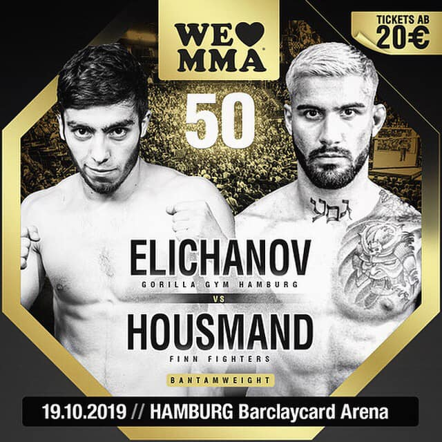 Hannan Housmand at We Love MMA 50